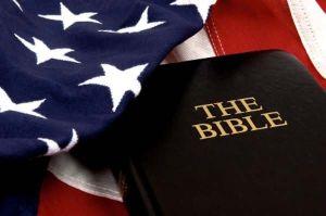 bibleamericanflag